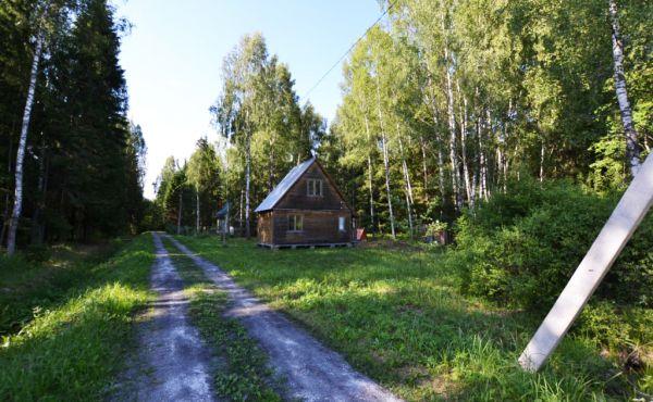 Садовый брусовой домик на 10 сотках в СНТ Актер, рядом с д.Терехово